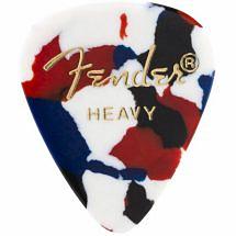 Fender 351 Shape Premium Pick Confetti Heavy