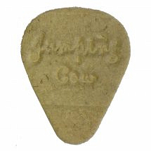Jumping Cow Natural Wool Felt Pick Plectrum for Ukulele & Banjo