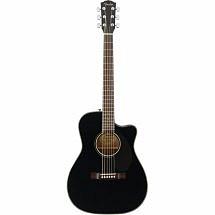 Fender CC60SCE Concert Electro Acoustic Guitar Black