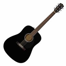 Fender CD60S Solid Top Acoustic Guitar Black