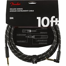 Fender Deluxe Series Angled Instrument Cable – 10 ft