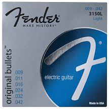 Fender Bullet Electric Guitar Strings (Nickel Wound)
