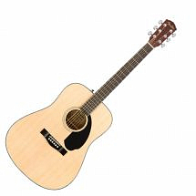 Fender CD60S Solid Top Acoustic Guitar  Natural