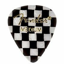Fender 351 Shape Premium Pick Checker Medium