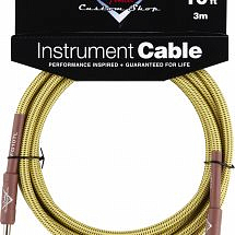 Fender Custom Shop Performance Series Instrument Lead (10ft 3M, Tweed)