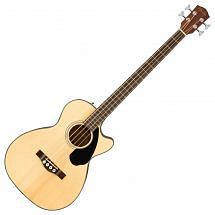 Fender CB-60SCE Electro Acoustic Bass, Natural