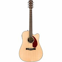 Fender CD140SCE (2017) Electro Acoustic Dreadnought Guitar Natural With Hard Case