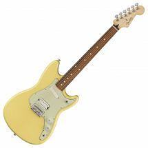 Fender Offset Duo Sonic HS Pau Ferro Canary Diamond