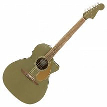 Fender Newporter Player Electro Acoustic Olive Satin