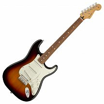 Fender Player Stratocaster PF, 3-Tone Sunburst