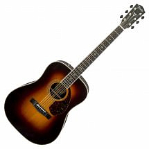 Fender Paramount PM1 Deluxe Dreadnought Electro Acoustic in Sunburst