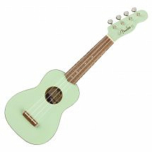 Fender Venice Soprano Ukulele in Surf Green
