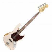 Fender Flea Signature Jazz Bass in Shell Pink