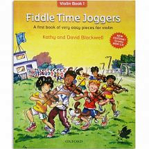 Fiddle Time Joggers Violin Book + CD