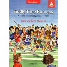 Fiddle Time Runners Violin Book + Audio Download