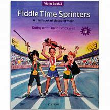 Fiddle Time Sprinters Violin Book + CD