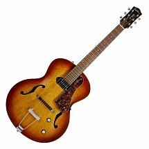 Godin 5th Avenue Kingpin Electro Acoustic Guitar, Cognac Burst