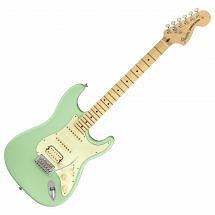 Fender American Performer Stratocaster HSS, Satin Surf Green