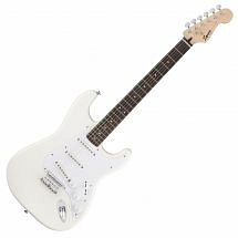 Squier Bullet Stratocaster HT electric guitar in White