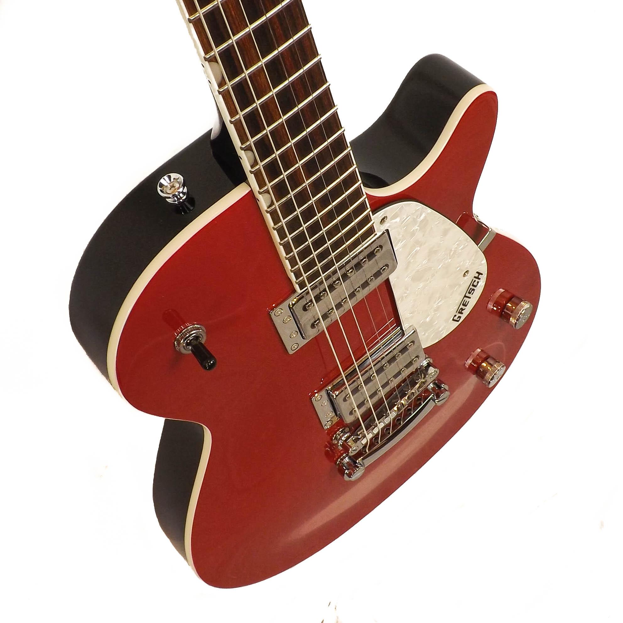 gretsch electromatic g5421 jet club guitar in firebird red music world. Black Bedroom Furniture Sets. Home Design Ideas