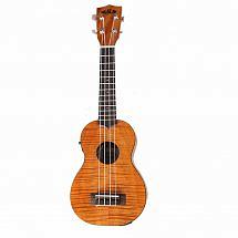 Kala KA-SEME Exotic Mahogany Electro Acoustic Soprano Ukulele