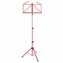 Kinsman Deluxe Music Stand And Bag-Red