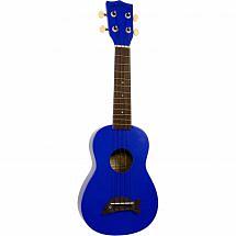 Makala MK SD Soprano Ukulele (Blue)