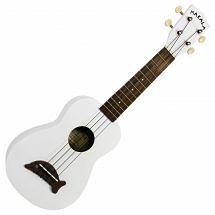 Makala MK-SD Soprano Ukulele (White)
