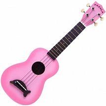 Makala MK-SD Soprano Ukulele (Pink Burst)