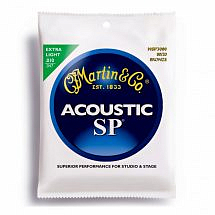 Martin SP Acoustic Guitar Strings (80/20 Bronze)