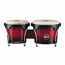 Meinl Headliner Series Wood Bongo 6 3/4 inch & 8 inch-Wine Red Burst
