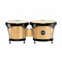 Meinl Headliner Series Wood Bongo 6 3/4 inch & 8 inch-Natural