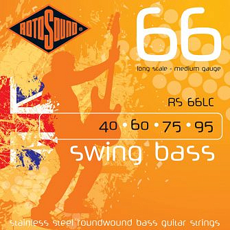 Rotosound Swing Bass 66 Bass Strings (Stainless Steel)