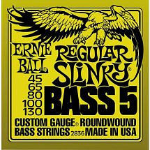 Ernie Ball Slinky Bass Strings (5-String/Nickel Wound)
