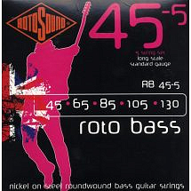 Rotosound Swing Bass 45 Bass Strings (5-String/Nickel Wound)
