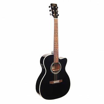 Sigma 000MC-1STE Electro Acoustic (Black)