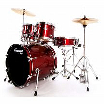 Mapex Tornado 'Rock' Drum Kit (Red)
