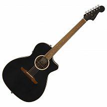Fender Newporter Special Electro Acoustic, Matte Black