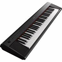 Yamaha NP12 Piaggero 61 Key Digital Keyboard – Black