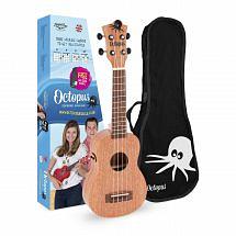 Octopus Electro Acoustic Soprano Ukulele UK205E