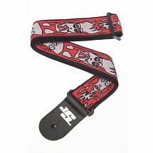 Planet Waves Joe Satriani Guitar Strap, Up in Flames