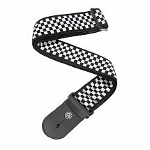 Planet Waves Woven 'Checkmate' Guitar Strap