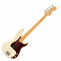 Fender American Professional II Precision Bass MN, Olympic White