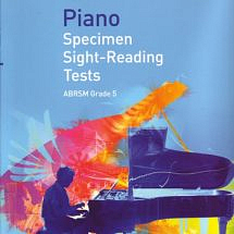 Piano Specimen Sight-Reading Tests Grade 5