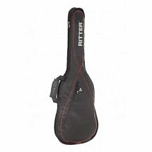 Ritter Performance RGP2-E Electric Guitar Gig Bag, Black Red