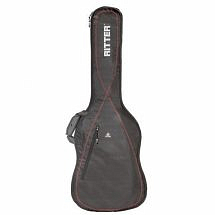 Ritter Performance RGP2 Bass Guitar Gig Bag (Black/Red)