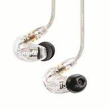 Shure SE215 In-Ear Sound Isolating Earphones – Clear