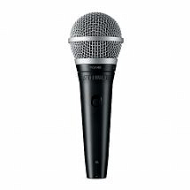 Shure PGA48 Cardioid Dynamic Vocal Microphone (XLR-QTR cable included)