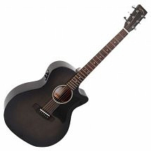 Sigma GMC-STE-BKB+ Electro Acoustic Guitar, Blackburst