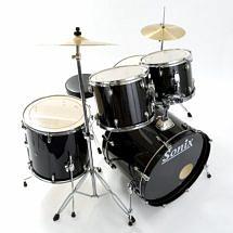 Sonix Junior Drum Kit in Black